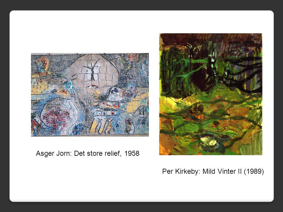 Asger Jorn: Det store relief, 1958