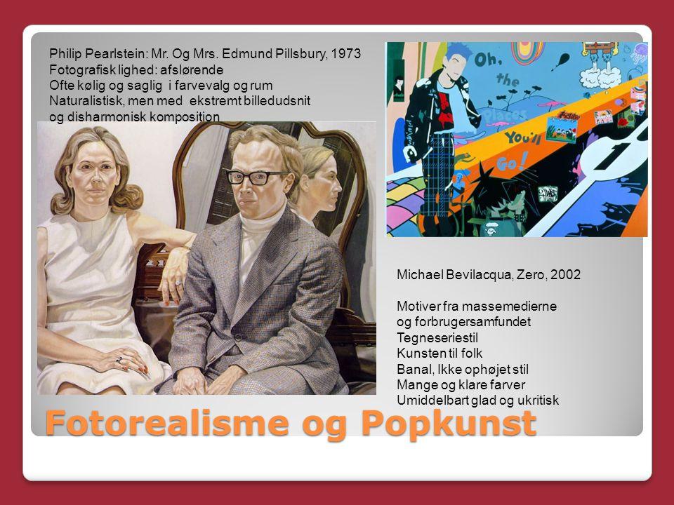 Fotorealisme og Popkunst