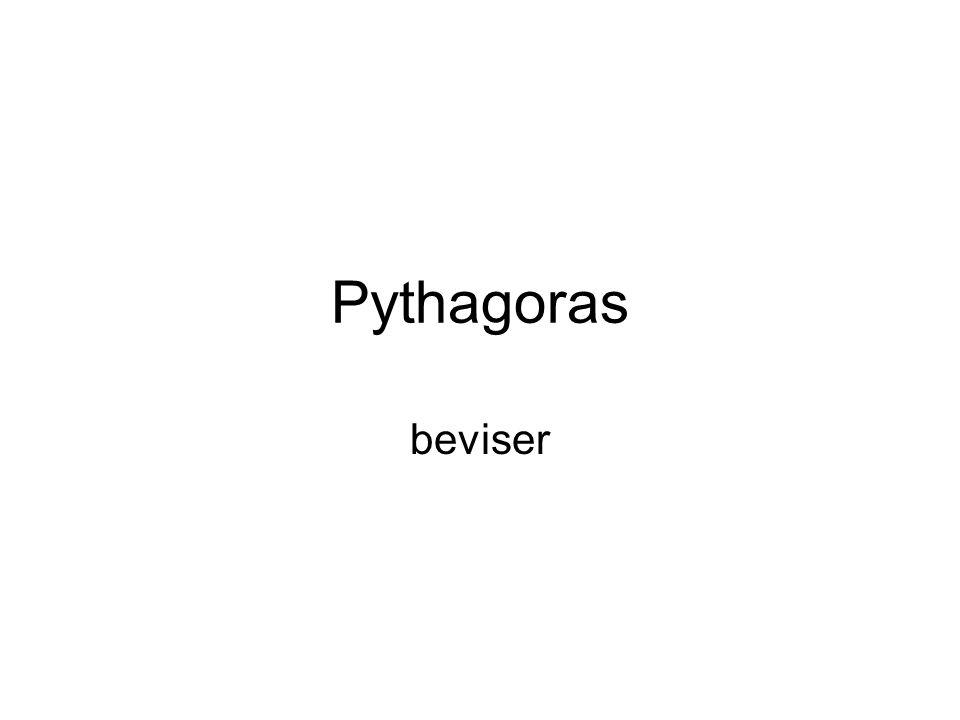 Pythagoras beviser