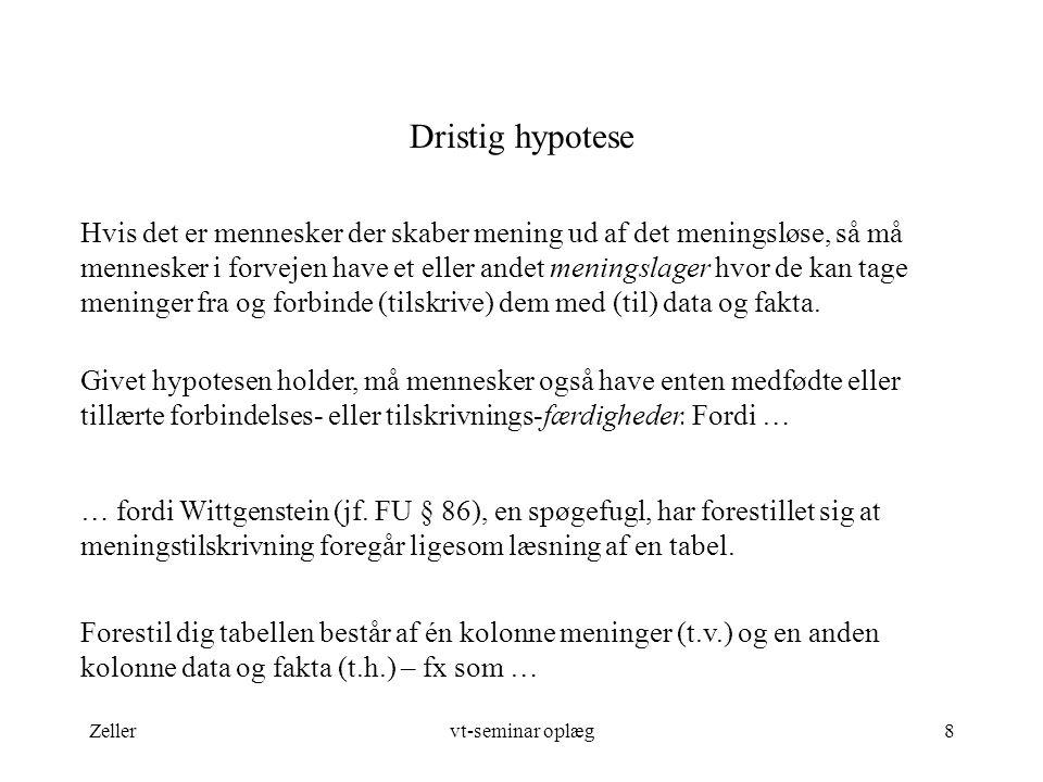 Dristig hypotese