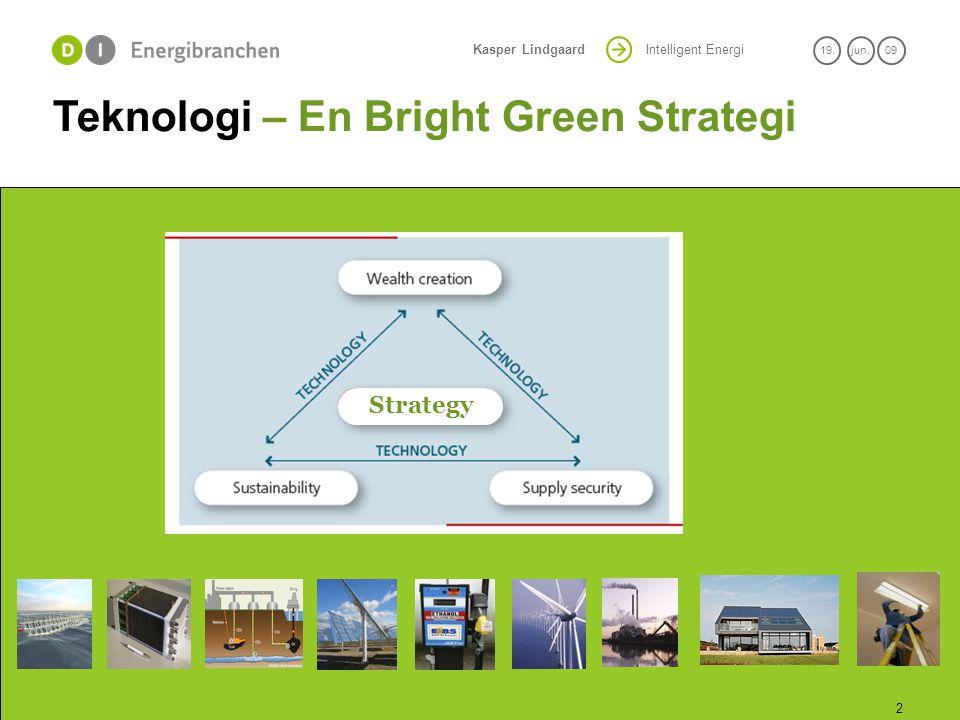 Teknologi – En Bright Green Strategi