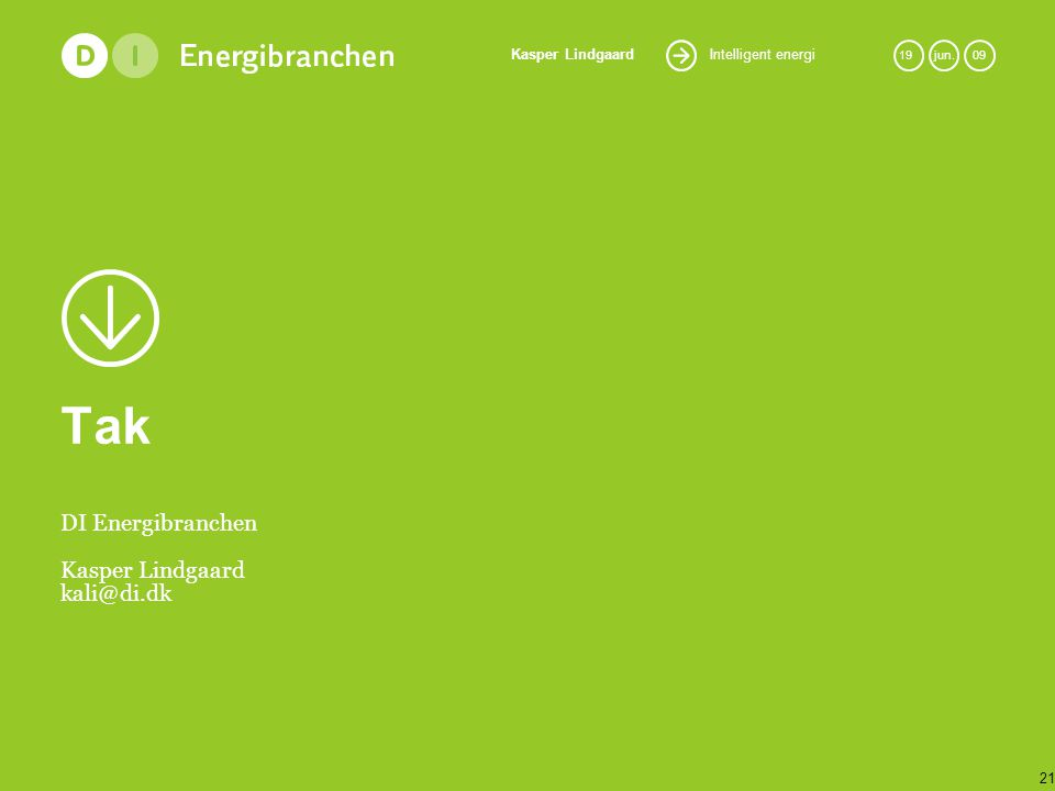 DI Energibranchen Kasper Lindgaard kali@di.dk