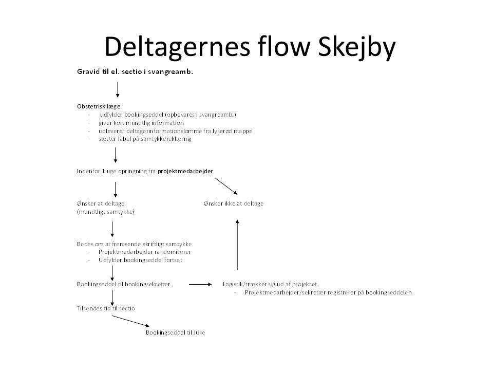 Deltagernes flow Skejby