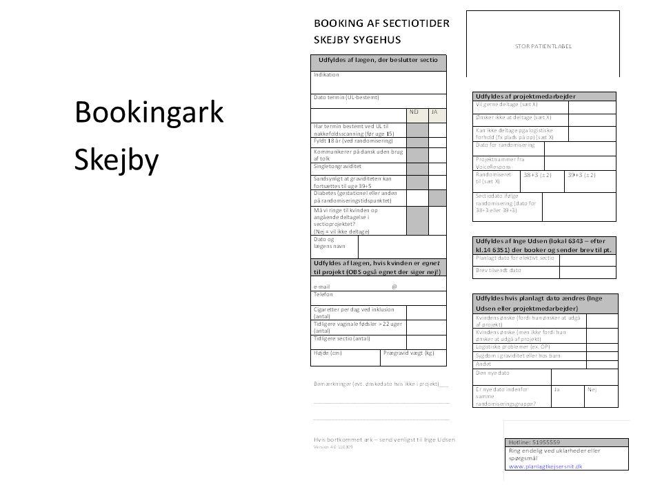 Bookingark Skejby