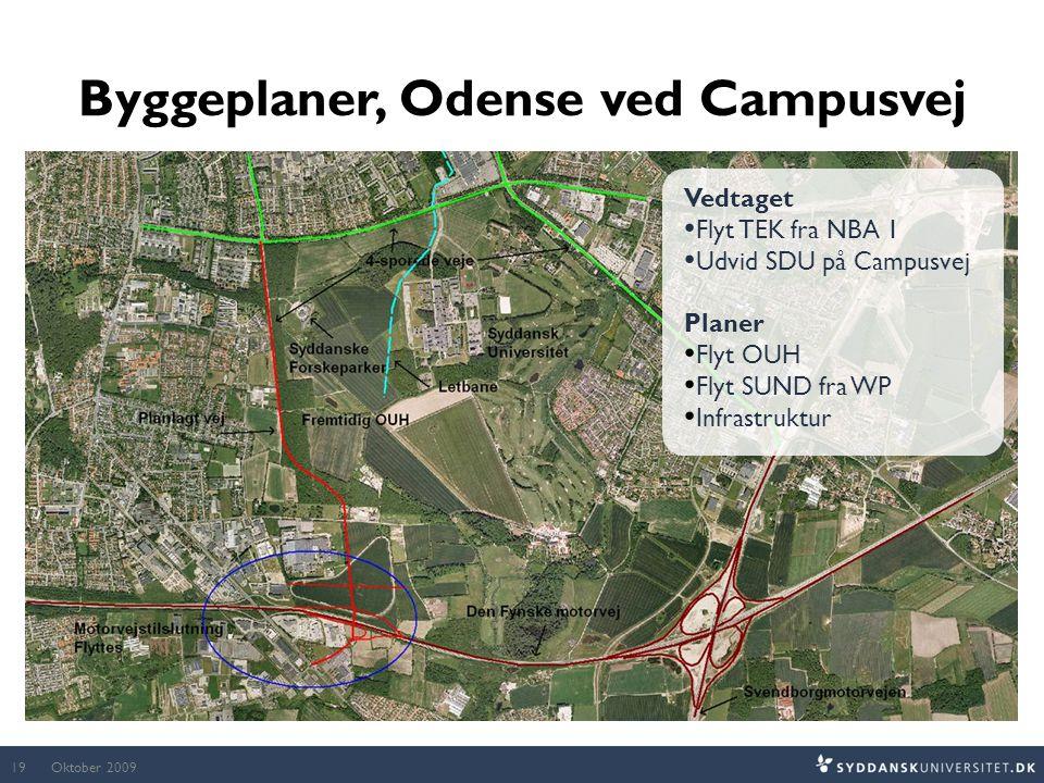Byggeplaner, Odense ved Campusvej