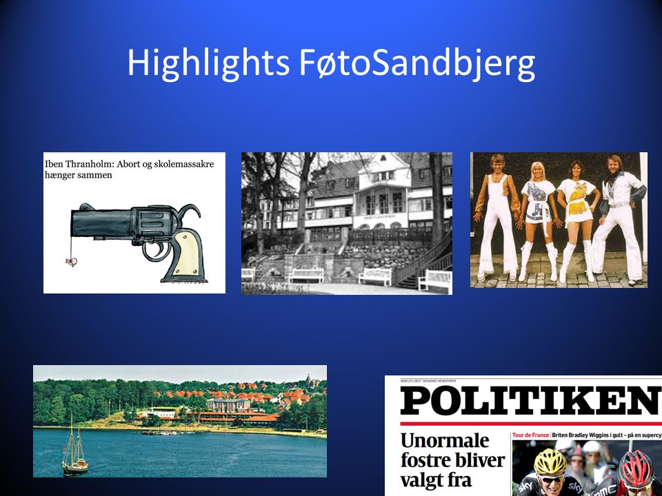 Highlights FøtoSandbjerg