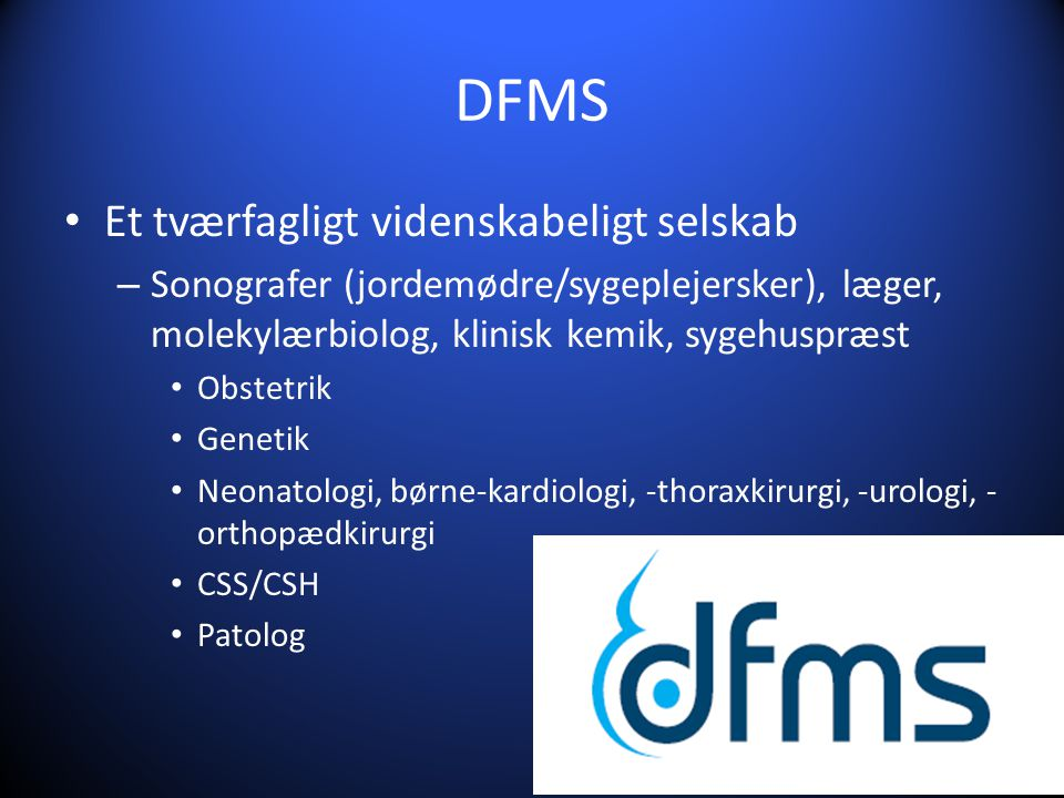 DFMS Et tværfagligt videnskabeligt selskab