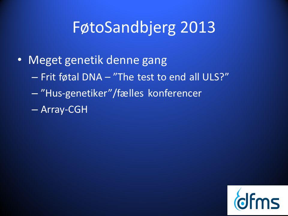 FøtoSandbjerg 2013 Meget genetik denne gang