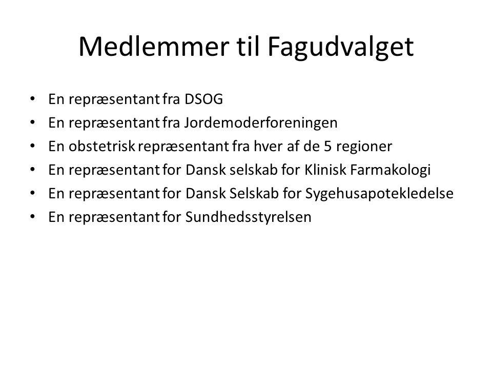 Medlemmer til Fagudvalget