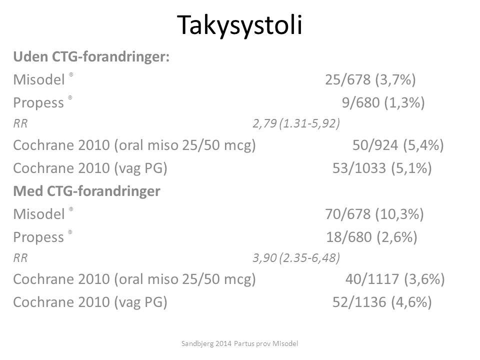 Sandbjerg 2014 Partus prov Misodel