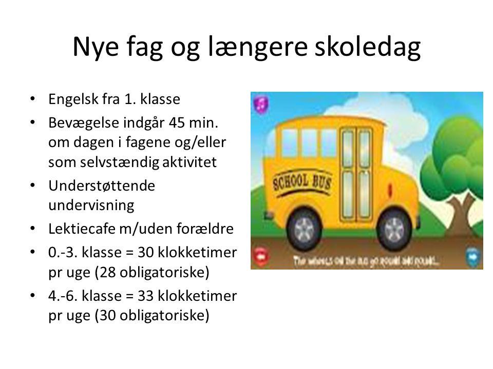 Nye fag og længere skoledag
