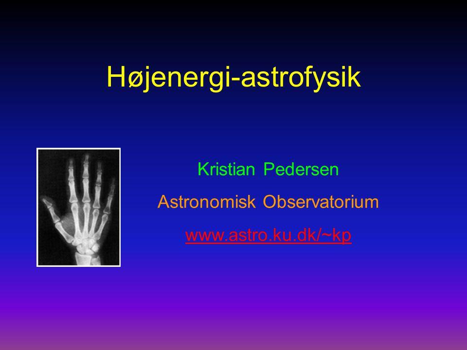 Højenergi-astrofysik