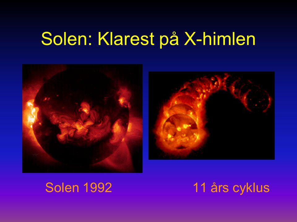 Solen: Klarest på X-himlen