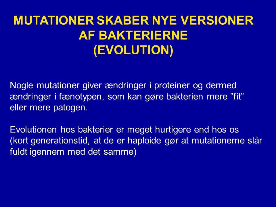 MUTATIONER SKABER NYE VERSIONER