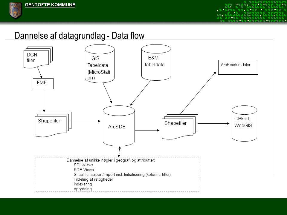 Dannelse af datagrundlag - Data flow