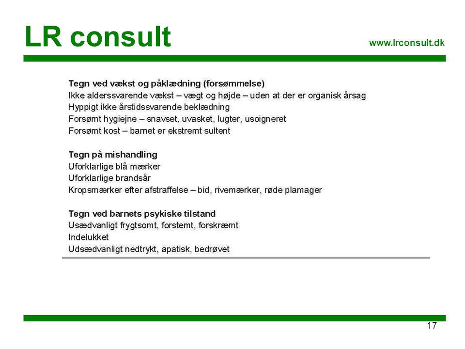 LR consult www.lrconsult.dk