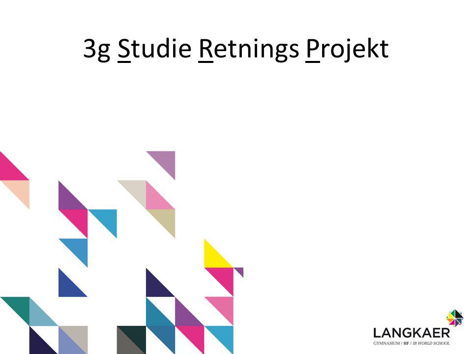 3g Studie Retnings Projekt