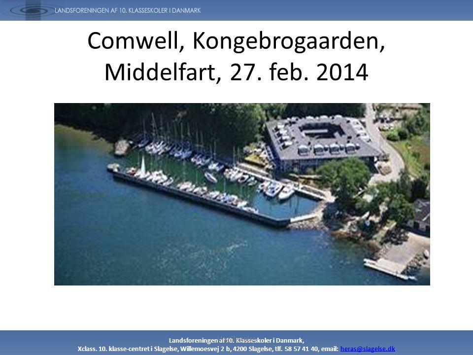 Comwell, Kongebrogaarden, Middelfart, 27. feb. 2014