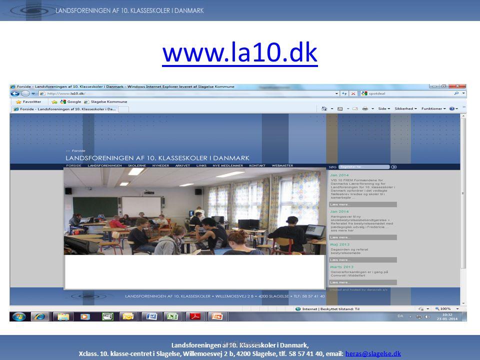 www.la10.dk UngSlagelse