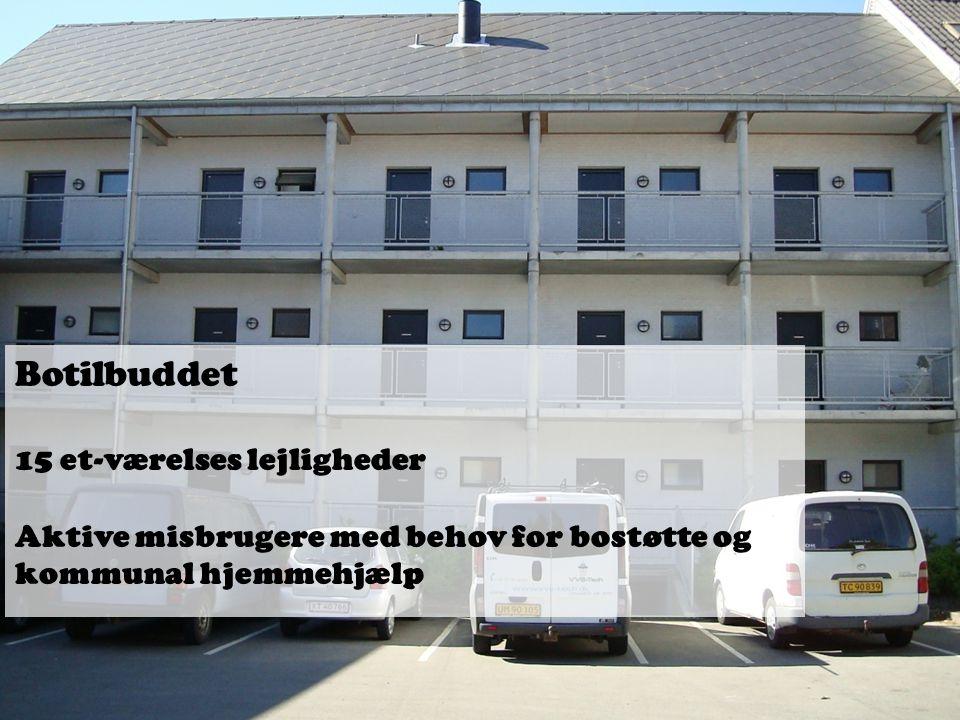 Botilbuddet 15 et-værelses lejligheder