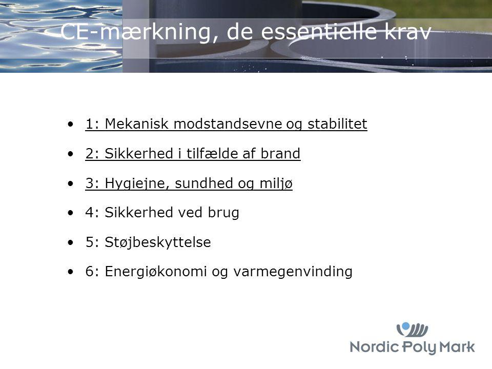 CE-mærkning, de essentielle krav