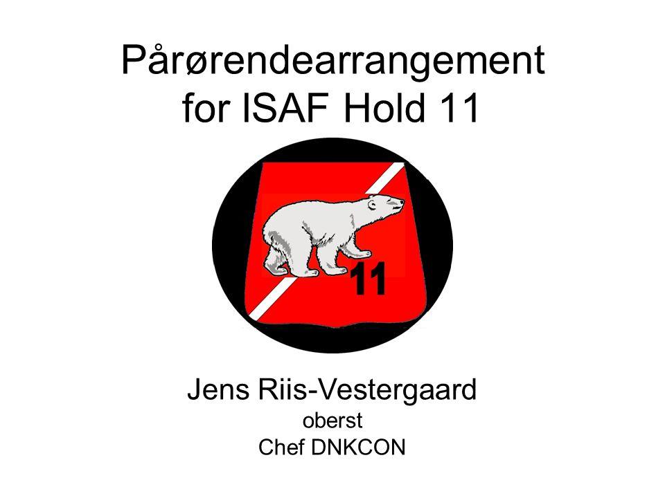 Pårørendearrangement for ISAF Hold 11