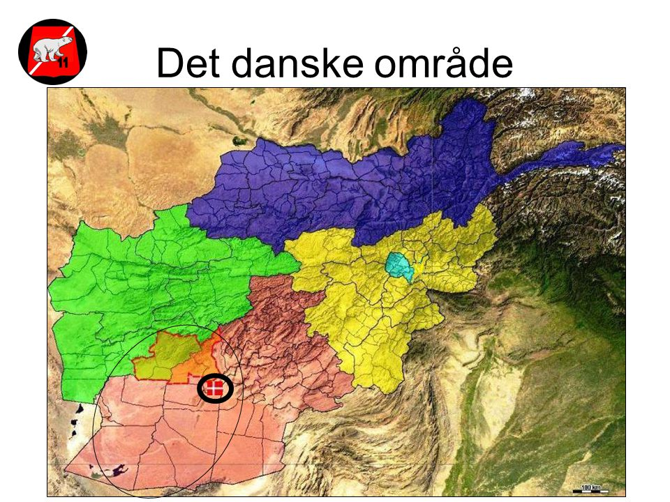 Det danske område