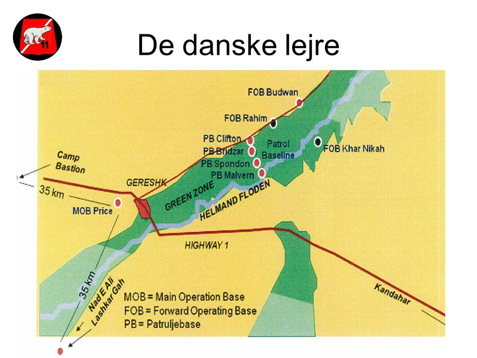 De danske lejre