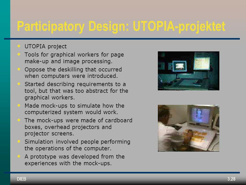 Participatory Design: UTOPIA-projektet