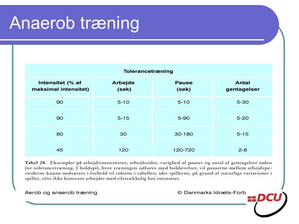 Anaerob træning