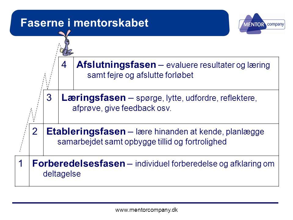 Faserne i mentorskabet