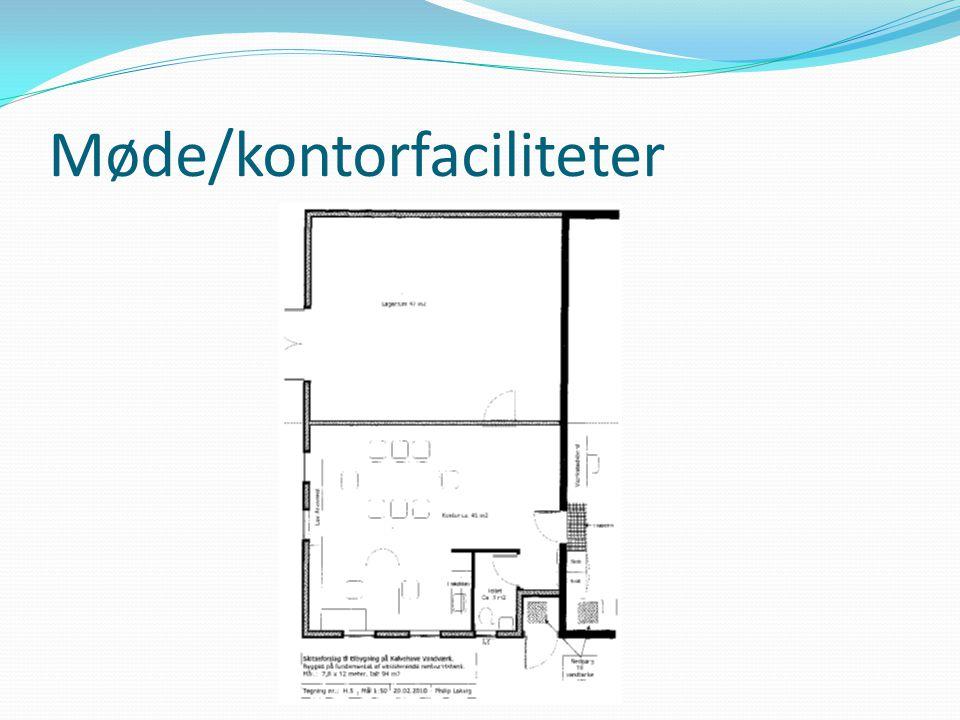 Møde/kontorfaciliteter
