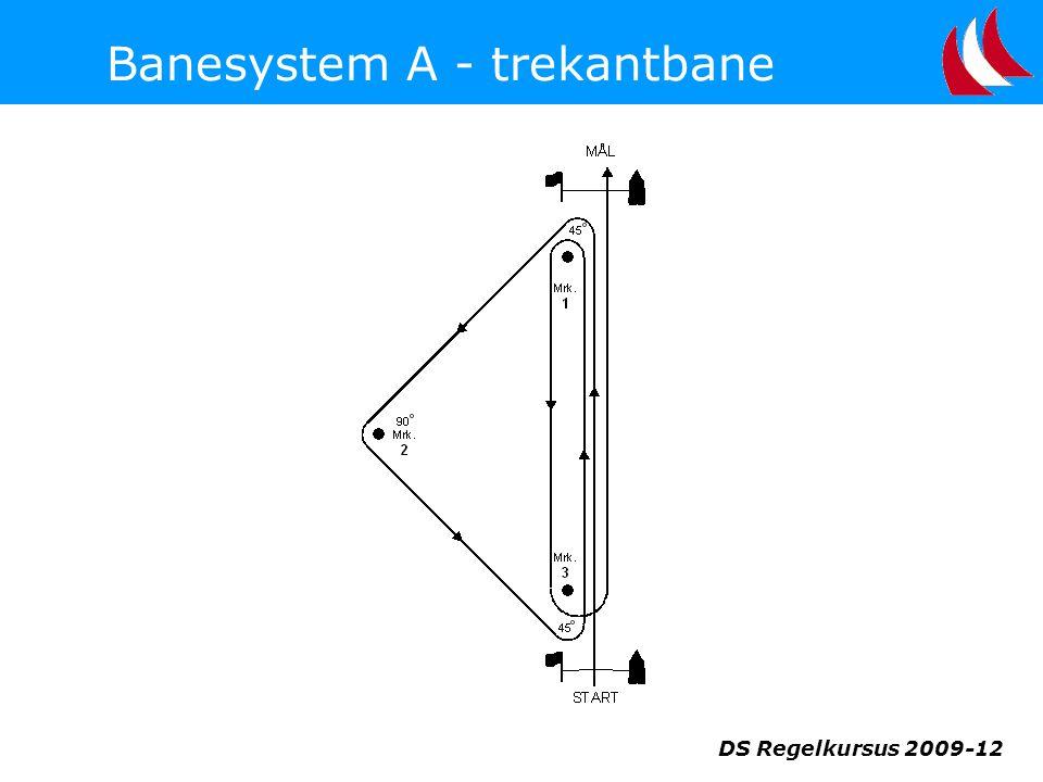 Banesystem A - trekantbane