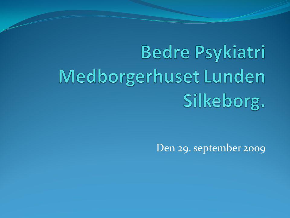 Bedre Psykiatri Medborgerhuset Lunden Silkeborg.