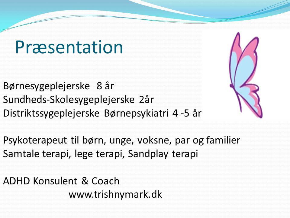 Præsentation Børnesygeplejerske 8 år Sundheds-Skolesygeplejerske 2år