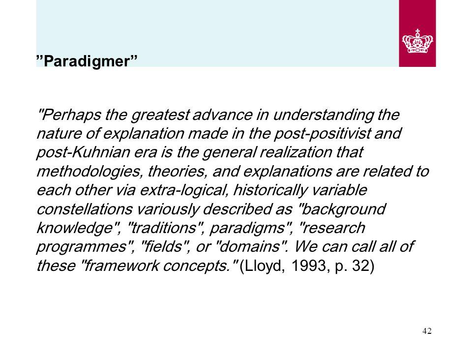 Paradigmer