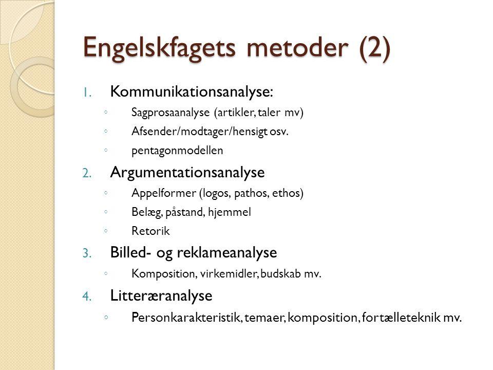 Engelskfagets metoder (2)