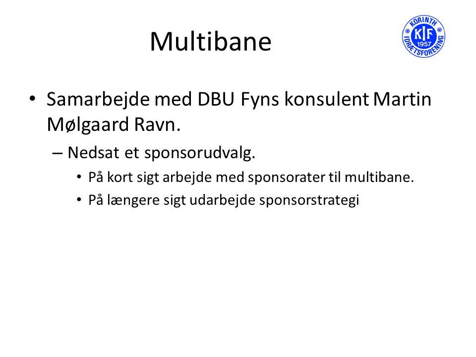 Multibane Samarbejde med DBU Fyns konsulent Martin Mølgaard Ravn.
