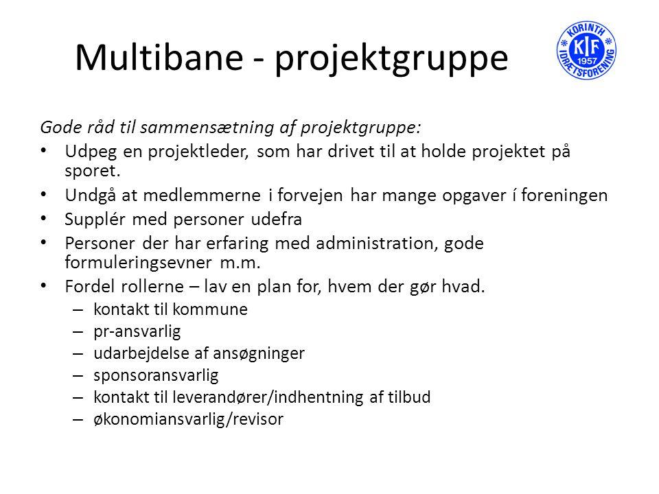 Multibane - projektgruppe