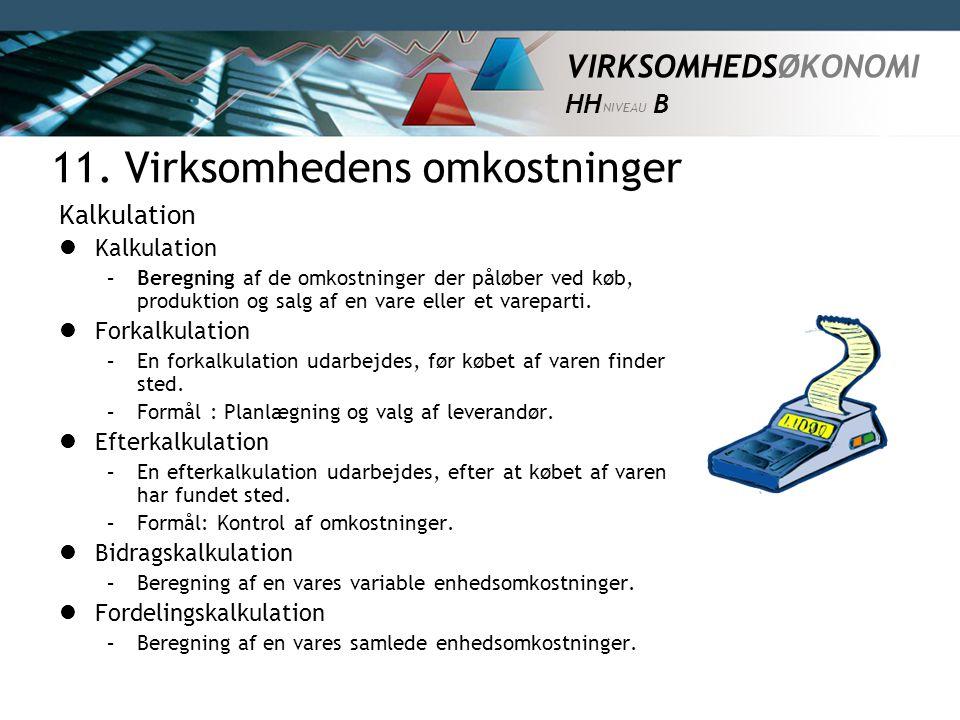 11. Virksomhedens omkostninger - ppt video online download