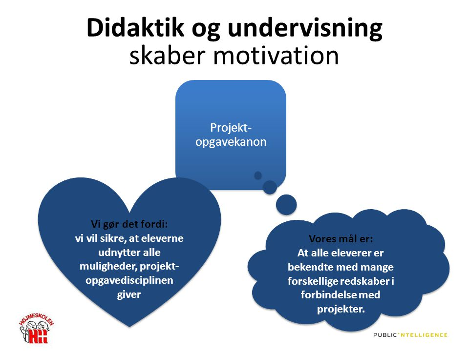 Didaktik og undervisning skaber motivation