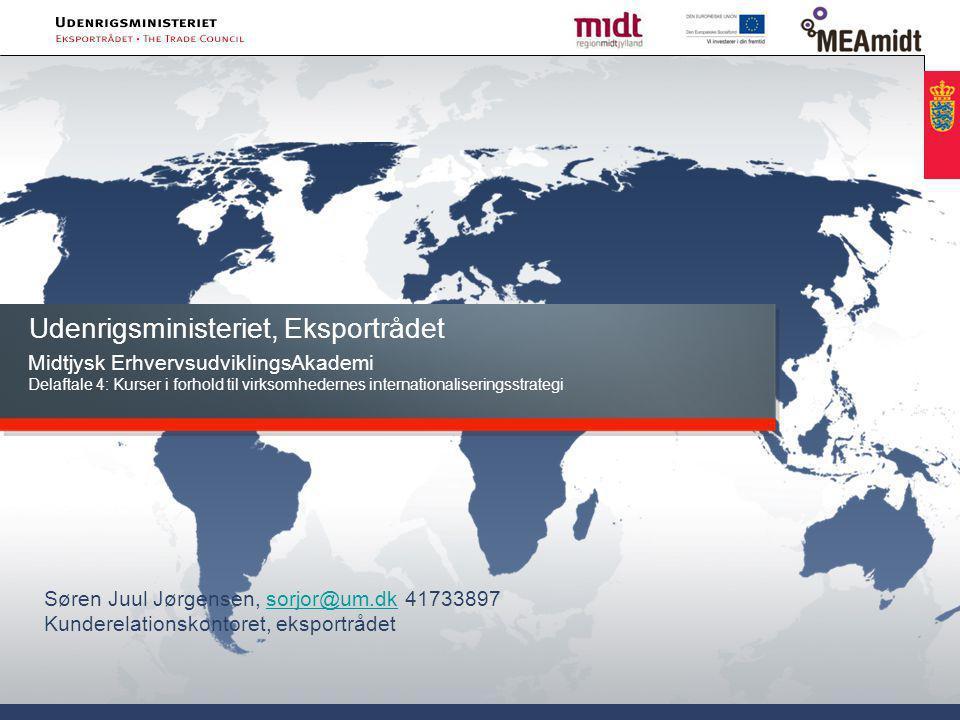 Udenrigsministeriet, Eksportrådet