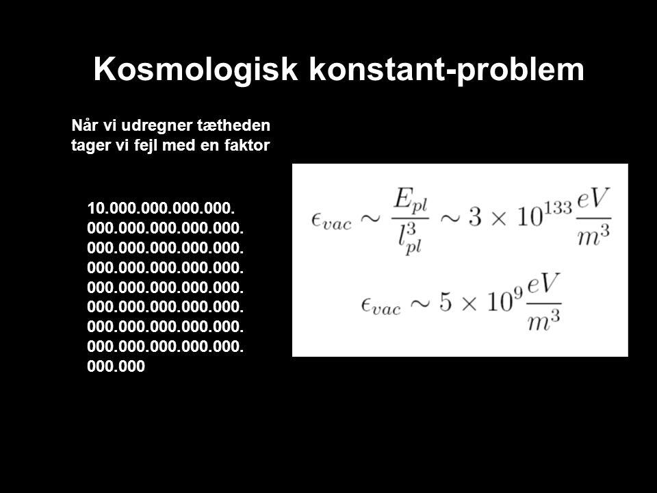 Kosmologisk konstant-problem