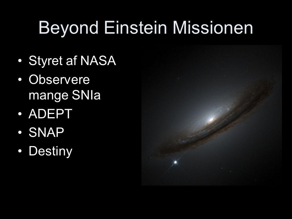Beyond Einstein Missionen