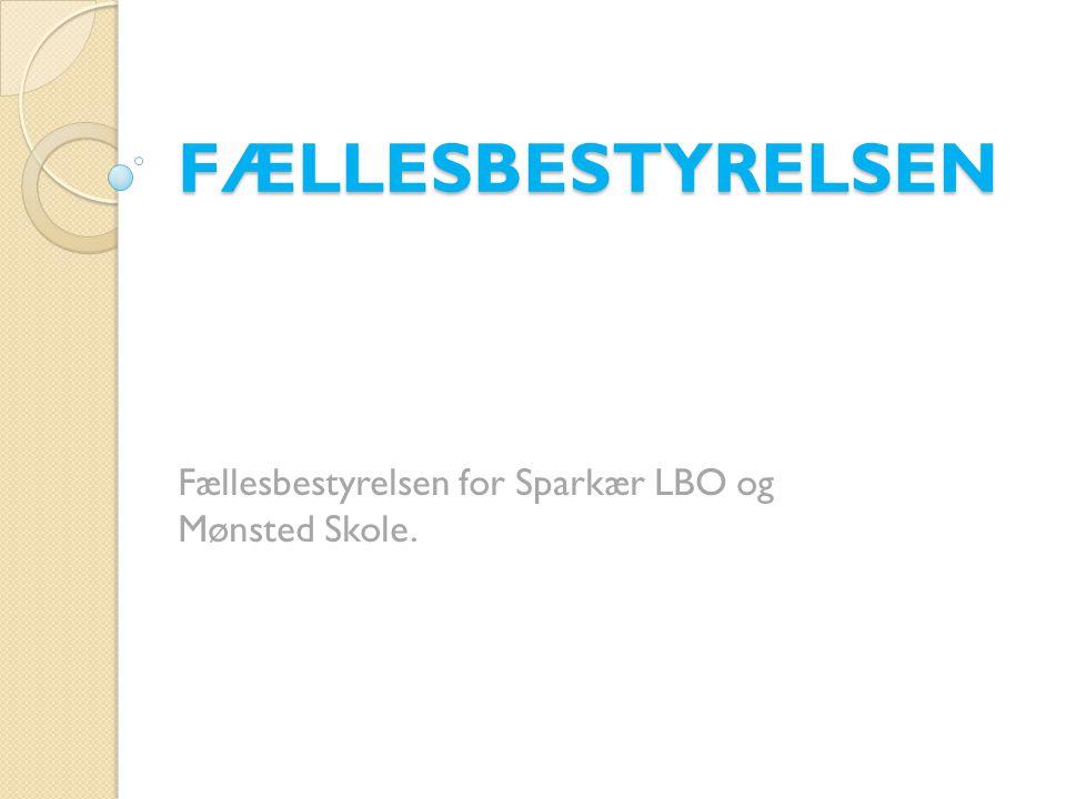 Fællesbestyrelsen for Sparkær LBO og Mønsted Skole.