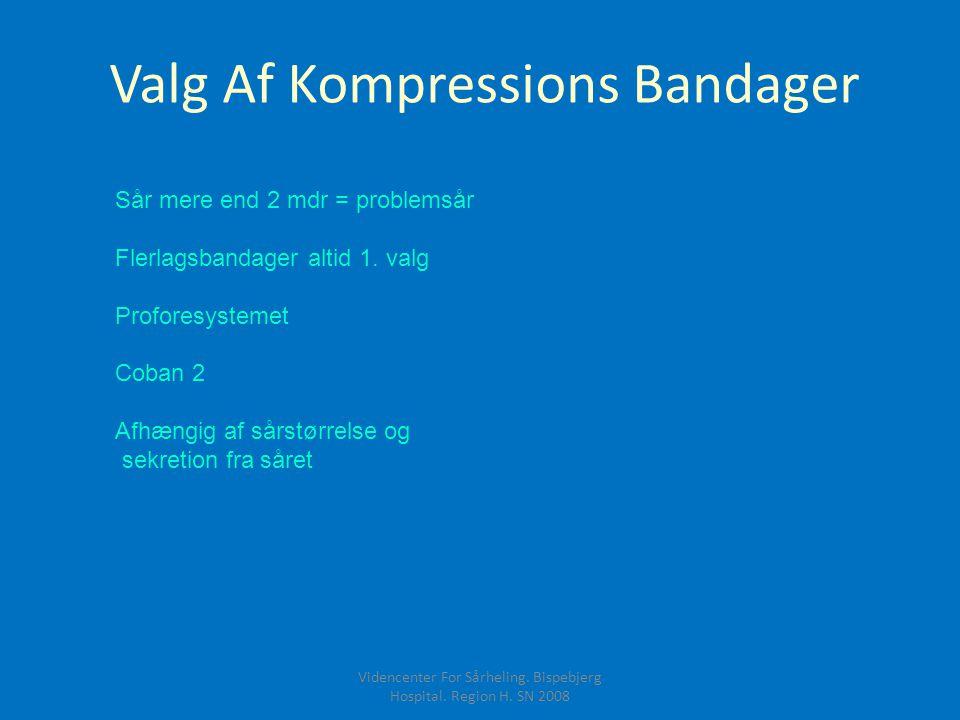 Valg Af Kompressions Bandager