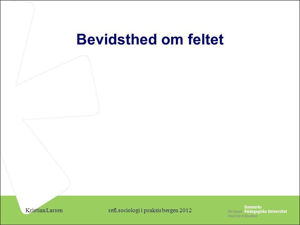 refl.sociologi i praksis bergen 2012