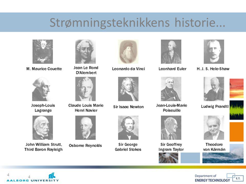 Strømningsteknikkens historie...