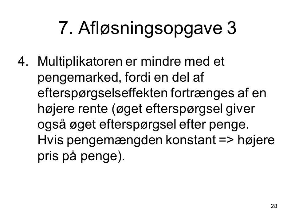 7. Afløsningsopgave 3