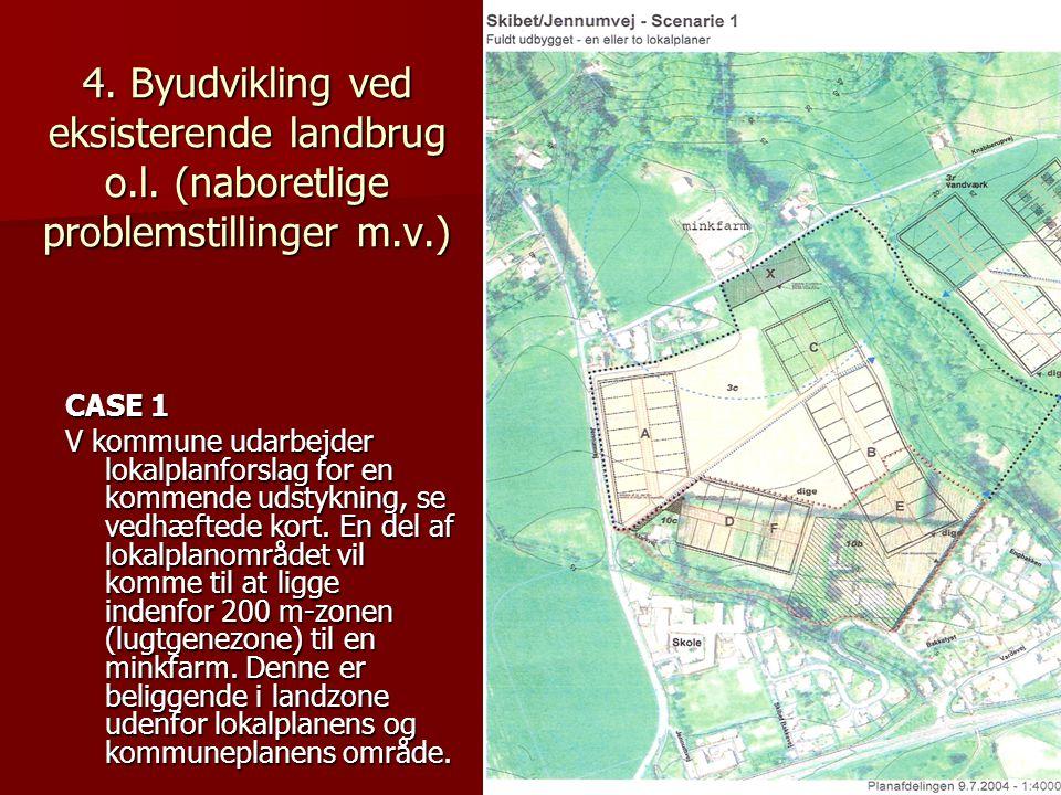 4. Byudvikling ved eksisterende landbrug o. l